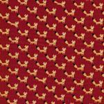 Kokka TRÉFLE Füchse rot