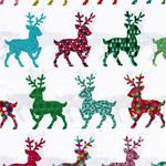 Hilco X-MAS COLOURED FESTIVE REINDEER we