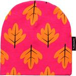 Maxomorra Beanie AUTUMN LEAF pink