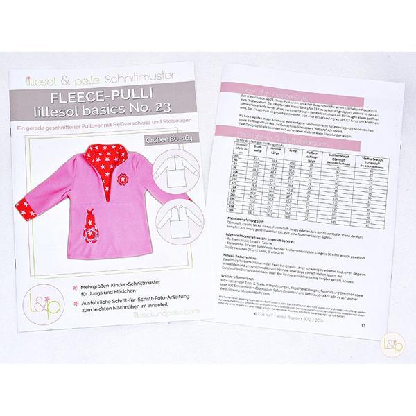 lillesol & pelle No.23 FLEECE-PULLI