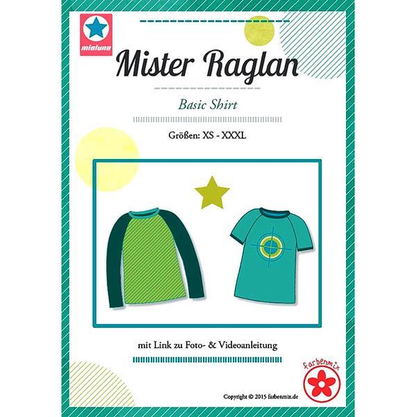 Farbenmix Schnittmuster MISTER RAGLAN