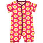 Maxomorra Rompersuit Button DAISY