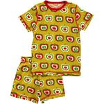 Maxomorra Pyjama Set Short APPLE