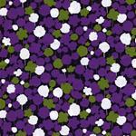 Kokka IROME Bäume klein lila grün