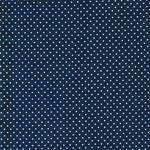 JUDITH Pünktchen jeansblau weiß