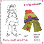 Farbenmix Schnittmuster GREETJE