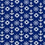 VICENTE Jersey maritim royalblau