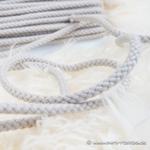 breite Kordel 8 mm beige