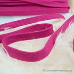 Flechtkordel flach 15 mm pink