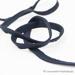 Paspel elastisch schwarz