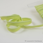 Paspel elastisch apfelgrün