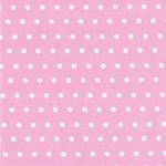 Swafing LEONA Wachstuch Punkte rosa