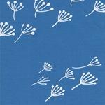 Swafing KENNY Interlock Pusteblume blau