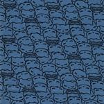 Swafing MALO Katzen jeansblau