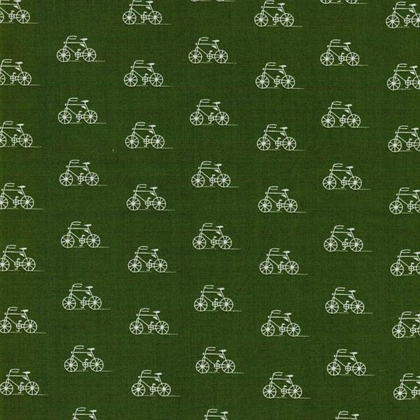 R. Kaufman LONDON CALLING Fahrräder grün