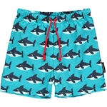 Maxomorra SWIMSHORTS SHARK türkis