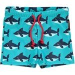 Maxomorra SWIMTRUNKS SHARK türkis