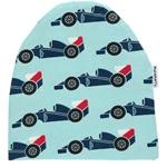 Maxomorra HAT REGULAR RACER CAR hellblau