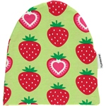 Maxomorra HAT REGULAR STRAWBERRY grün