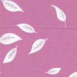 KENNY Interlock Blätter rosa