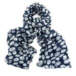 FJ Collection Schal Flora blue