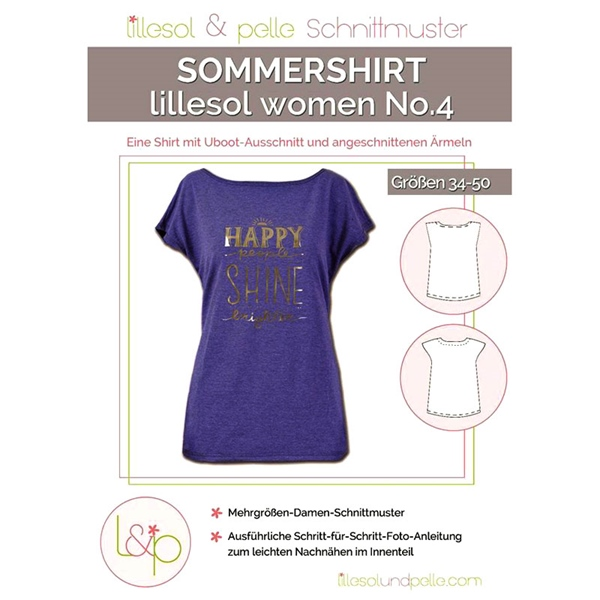 lillesol & pelle women No.4 SOMMERSHIRT