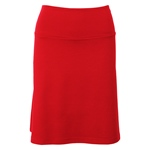 King Louie BORDER SKIRT MILANO uni red