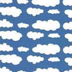 Swafing VICENTE Wolken blau