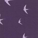 Alpenfleece Schwalben lila flieder