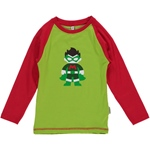 Maxomorra Top Longsleeve Print SUPERBOY