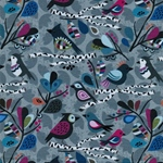 Swafing BIRDS AND LEAFS by Lila Lotta gr