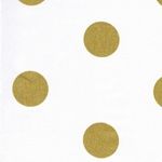 Swafing METALLIC DOTS gold