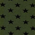 Swafing KITO Sterne grün schwarz