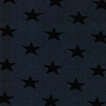 Swafing KITO Sterne blau schwarz
