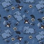 Swafing VERA Elefanten blau