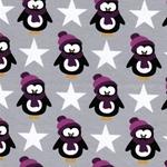 Swafing VERA Pinguine grau/beere