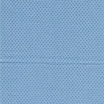 PEARL ESSENCE gewebte Baumwolle blau