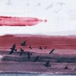 Monaluna WANDERLUST Sky Zugvögel