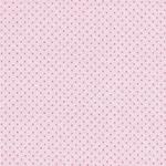 Hilco EBBA DOTS Jacquard Punkte rosa pin