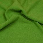 LEICHT-WALKER Wollstoff apfelgrün