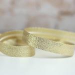 Lurexschrägband helles gold