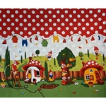 GNOME SWEET HOME Panel 55 cm