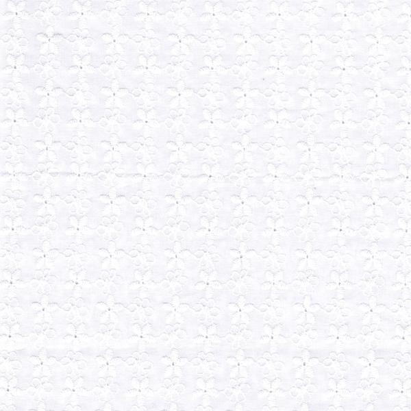 Hilco NORINA Stickerei weiß
