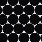Swafing FRESH DOTS laminated schwarz