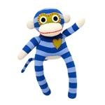 Hick Ups Sockenaffe Mini blau-blau