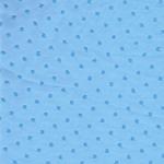 Swafing ELENA Chiffon blau Punkte