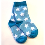 Mala ANKLE SOCK STARS light blue