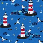 LIGHTHOUSE ISLAND Jersey blau