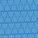 LIBELLA Jacquardjersey Libellen blau