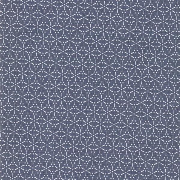 SAKURA gewebte Baumwolle stone blue